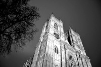 Westminster Abbey monochrome